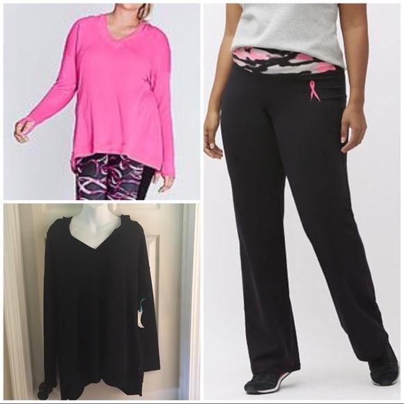 ceb701d04e4b3 Lane Bryant Pants | Sz 1416 Livi Active Yoga 2 Tunic Hoodies | Poshmark