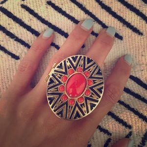 House of Harlow Sunburst Statement Ring