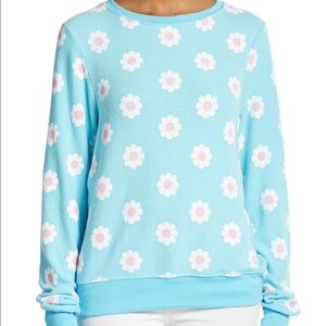 Wildfox Daisy pullover sweater top flower