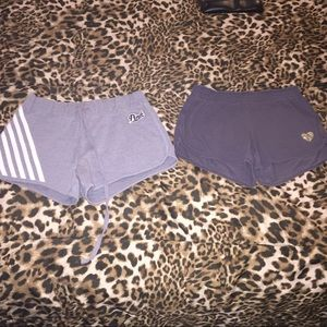 Vs shorts for trade. Grey with stripes sold