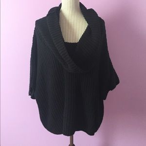 Express Black Cowlneck Sweater