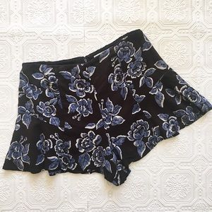Urban Outfitters Floral Swing Shorts