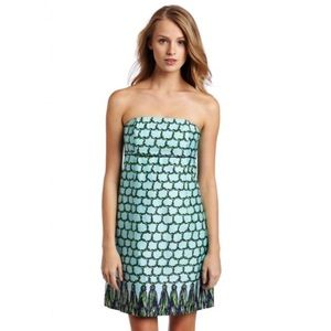 Lilly Pulitzer Velvet Rope Strapless Dress