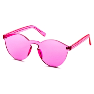 3c5fd538cd Alex Malay · Pink Retro Sunglasses