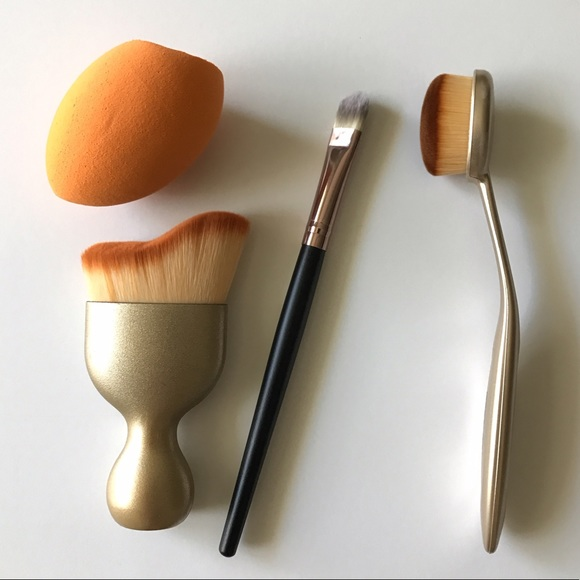 Oval makeup brush set sephora