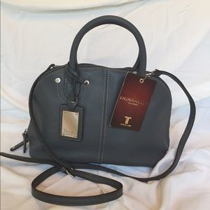 NWT Tignanello Leather Tote Crossbody Purse