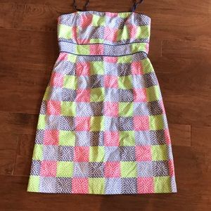 Vineyard Vines Checkered Whale Dress