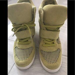 ASH women's wedge sneaker