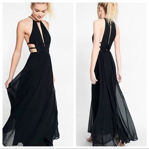 Express Strappy Cut-Out Maxi Dress