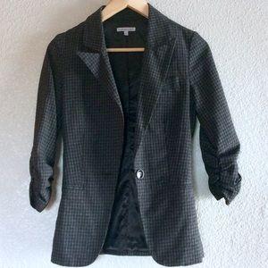 Charlotte Russe Checkered Blazer