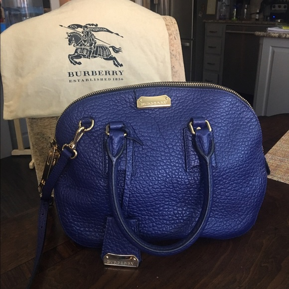 0f5c60d1b834 Burberry Heritage Grain Sm Orchard Bowling-BRBlue
