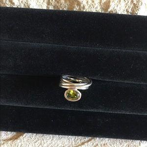 Pandora Green CZ ring
