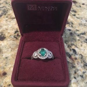 Jewelry - Genuine Colombian Emerald Ring