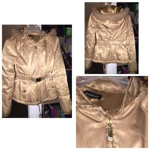 Bebe golden jacket