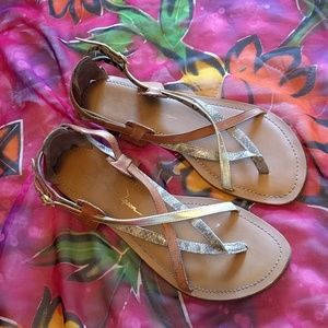 Jessica Simpson strappy sandals size 9.5