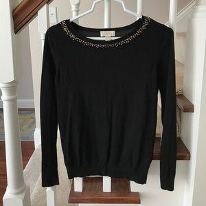 LOFT jeweled sweater