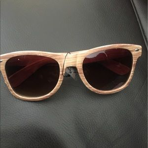 Brand new wooden sunglasses