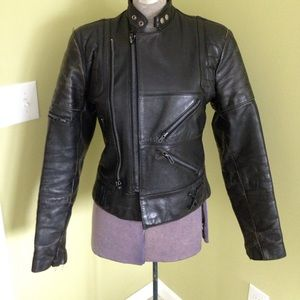 Additional pictures of painted leather jacket