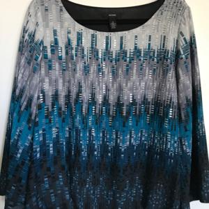 Alfani blouse fully lined