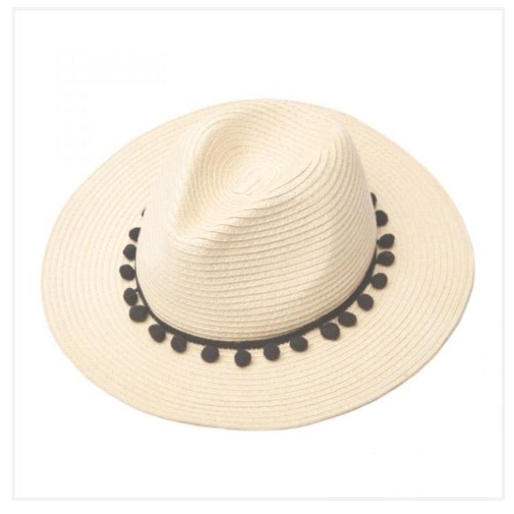 Sole Society Accessories - Sole Society Straw Panama Hat - Rachel Zoe 21cdf04392bd
