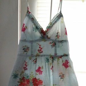 Dresses & Skirts - Baby blue country dress!
