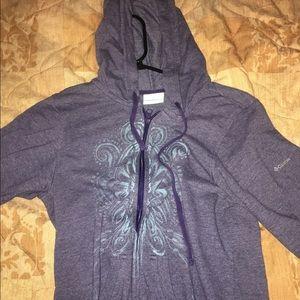 Sweaters - Columbia zip up sweater