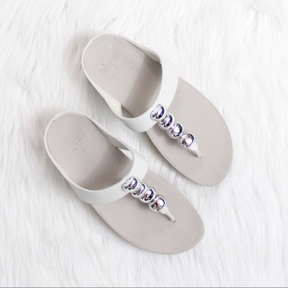 Size Sandal ShoesRola Poshmark Fitflop Urban 7 White Leather Y6vgIbf7y
