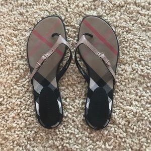Burberry Flip Flops