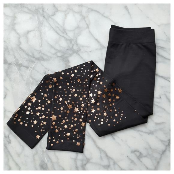 ec14a2262d491 Electric Yoga Pants | New Years Stars Leggings | Poshmark
