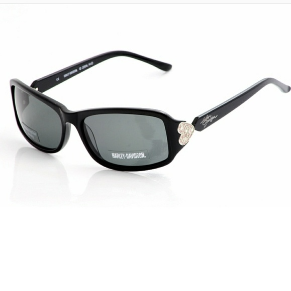 d661cc2a2c386 NEW Harley Davidson Bling Heart Sunglasses