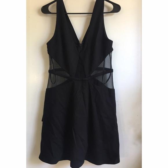 bebe Dresses - Bebe Mesh Dress