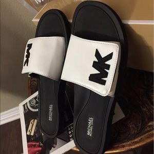Brand New Michael Kors Sandals size 9 and 7 ava.