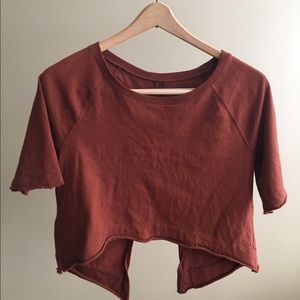 Free People crop top, size XS
