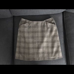 **SALE**Old Navy Brown Plaid Skirt Size 8