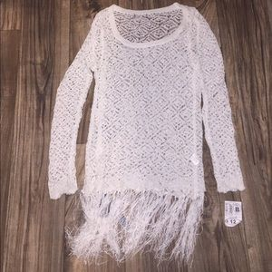 Other - Crochet bathing suit cover up