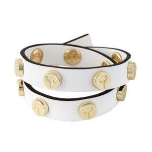 Heidi Klein Wrap Bracelet in White