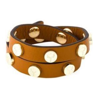 Heidi Klein Wrap Bracelet in Brown