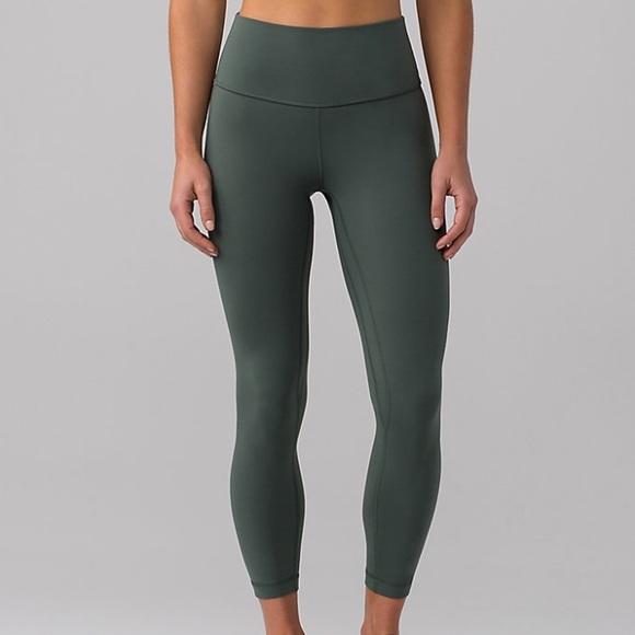 1e3e0b8e1c lululemon athletica Pants | Nwt Lululemon Align Pant Ii 25 Dark ...