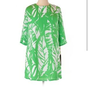 Lilly Pulitzer for Target Green Palm Dress NWT