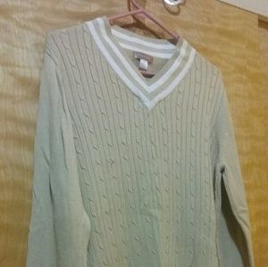 Sweaters - Bundle of two v-neck sweaters.