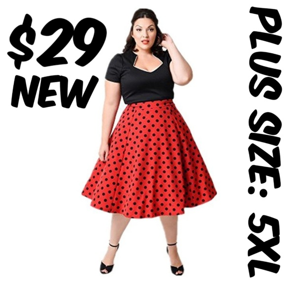 Dresses Plus Size Swing Pin Up 50s Dress Dot Vintage Poshmark