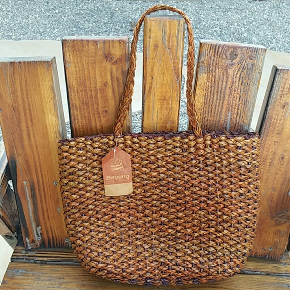 Kultura Abaca Bag Design: 72% Off Bayong By Kultura Handbags