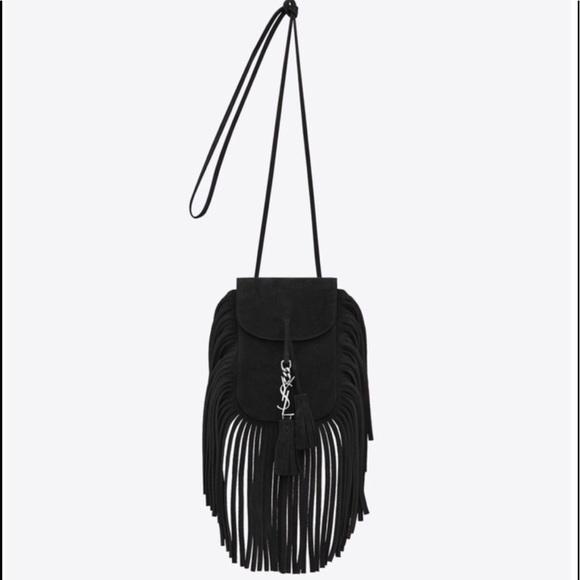 fdd424be401 Yves Saint Laurent Bags | St Laurent Anita Fringe Mini Bag | Poshmark