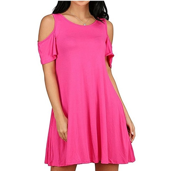 Tops Plus Size Hot Pink Tunicdress Poshmark