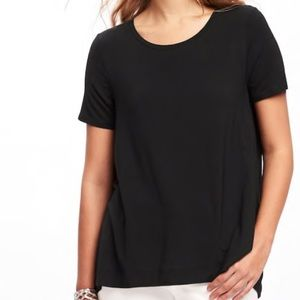 🔴Old Navy black top with loose fit sleeves