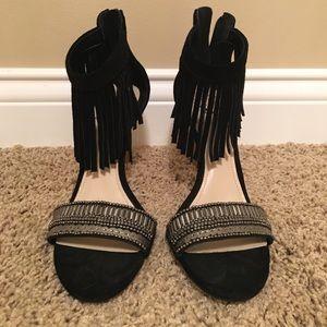 Vince Camuto Black embellished sandals