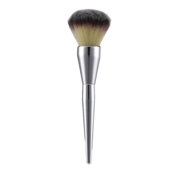 The powder makeup brush with large, fluffy and dense head,perfect for Matto Bamboo Powder Mineral Kabuki Brush - Large Coverage Powder Mineral Foundation Makeup Brush 1 Piece Large Finishing Powder Makeup Brush - Big Fluffy Powder Make Up Brush for Face and All Over Body Bronzer, Loose, Mineral, Compact, Translucent Powders, Soft.
