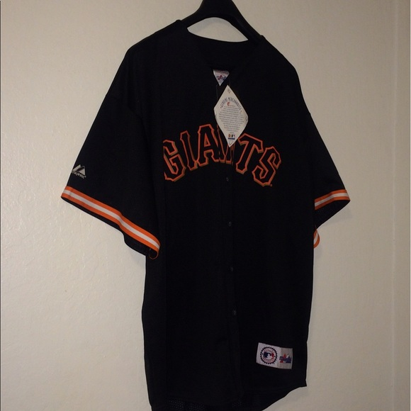 Sf Giants New Black Home Jersey