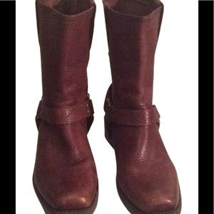 Frye Brown Kids Boots Size 3