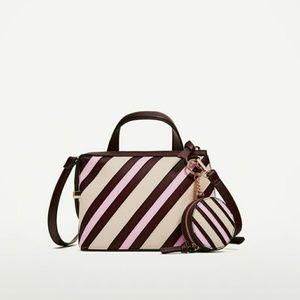 Zara Stripes City Bag